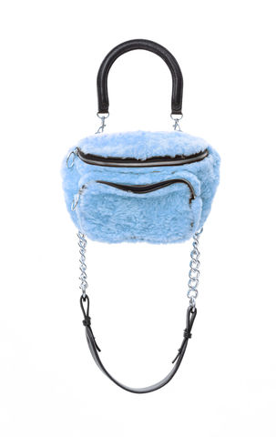 PRE,ORDER,-,POMPOM,CROSS,SHOULDER,BAG,AW20, CROSS SHOULDER BAG, BAG, BLUE