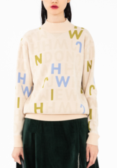 WEI JWH LOGO JUMPER  - product images  of