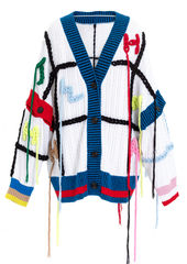 PRE ORDER - FANG HAND EMBROIDERY CARDIGAN - product images 6 of 12