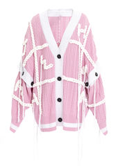 PRE ORDER - FANG HAND EMBROIDERY CARDIGAN - product images 11 of 13