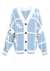 PRE ORDER - FANG HAND EMBROIDERY CARDIGAN - product images 6 of 13