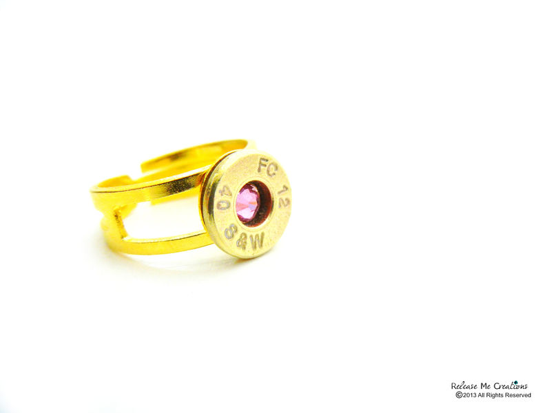 Smith & Wesson Bullet Bling Ring - product image