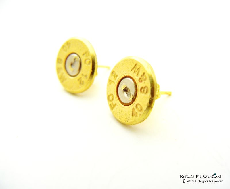Smith & Wesson Bullet Stud Earrings - product image