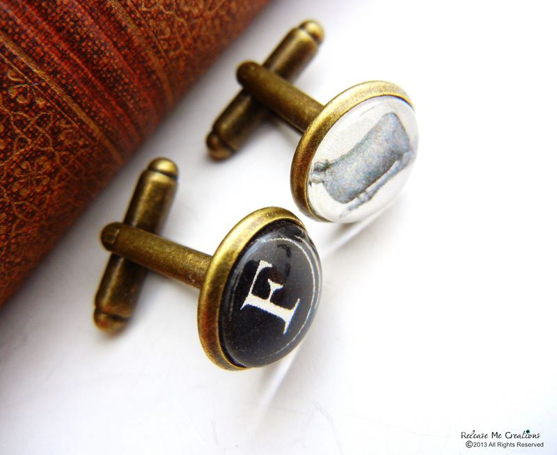 Eff Ewe Cuff Links for Him - product image