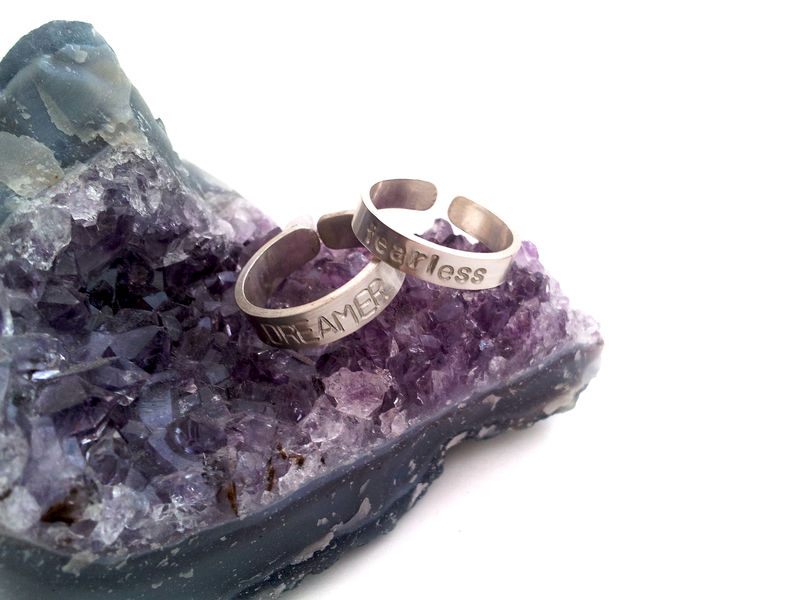 Fearless Dreamer Sterling Silver Ring Set - product image
