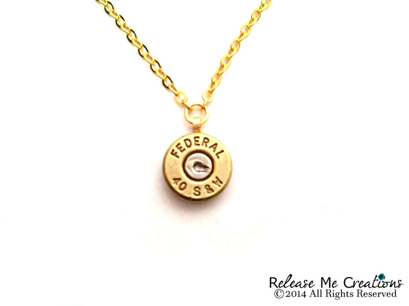 Smith and Wesson Bullet Necklace - product image