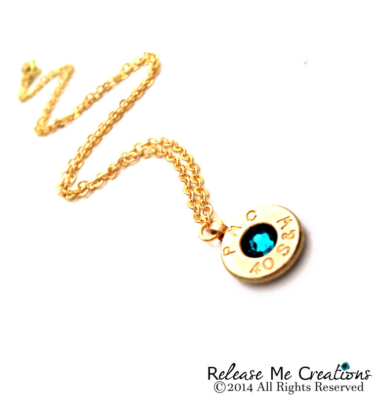 Bullet Birthstone Necklace - product image