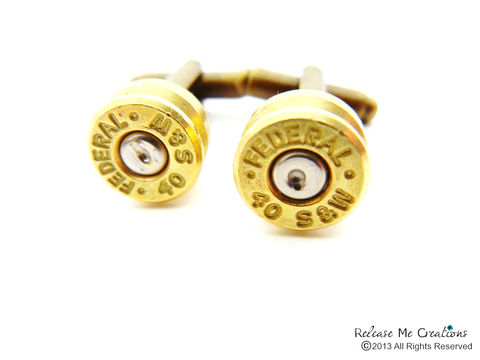 Smith,and,Wesson,Bullet,Cufflinks,bullet cufflinks, cuff link, smithandwessonbulletcufflink, for him, groom gift, groomsmen gift, cufflinks, gift for him