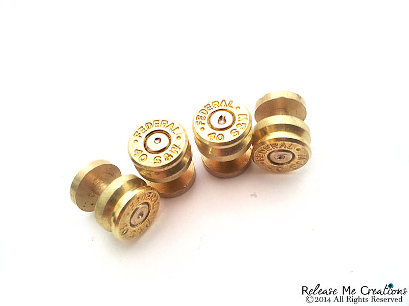 Smith & Wesson Bullet Tuxedo Studs - product image