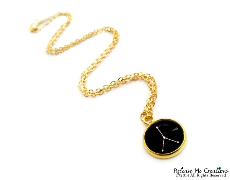 Constellation Zodiac Necklace For Her - product image