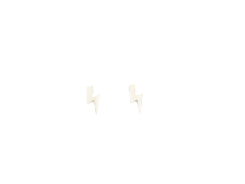 Lightning Bolt Stud Earrings - product image