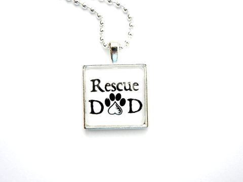 Rescue,Dad,Necklace,Paws,in,the,City,Jewelry,rescue necklace, rescue dad, dad, animal rescue jewelry, rescue jewelry, dog rescue necklace, cat rescue necklace, jewelry, for him