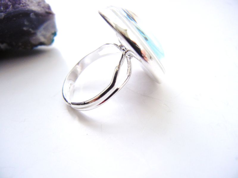 Soar Blue Sterling Silver Ring - product image