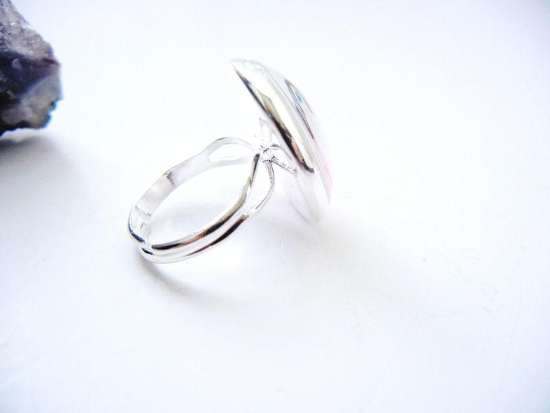 Dream Pink Sterling Silver Ring - product image