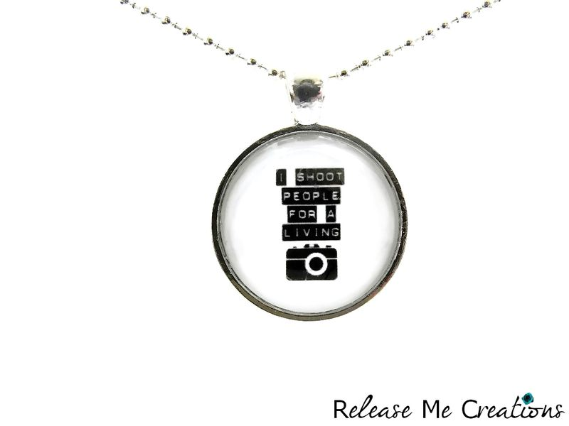 Photographer Shoot People Necklace - product image