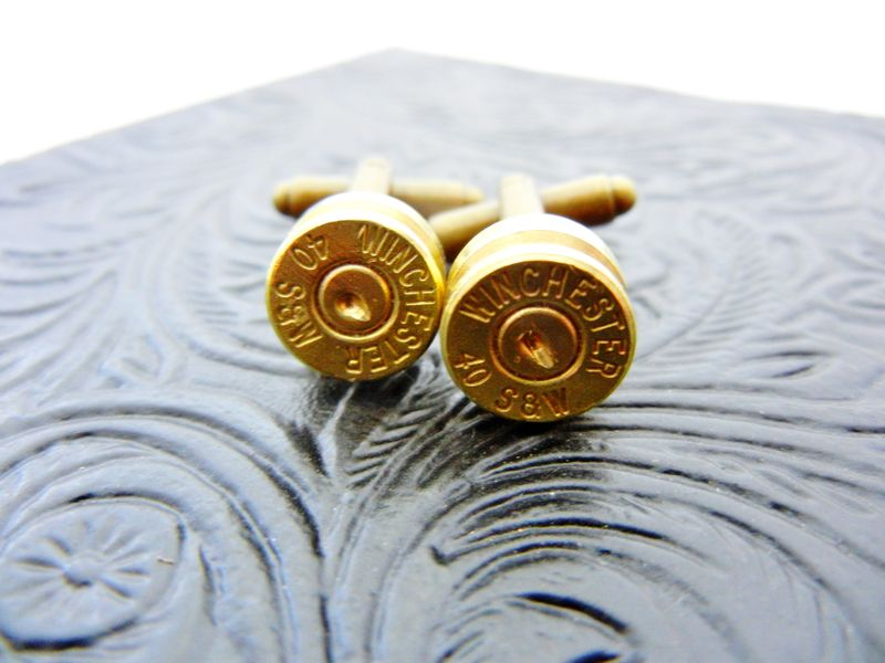 Winchester Bullet Cufflinks For Him - product image
