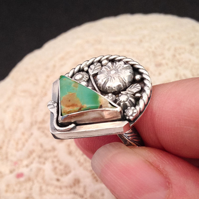 Unique sterling silver jewelry - Handcrafted Sterling Silver Band Ring