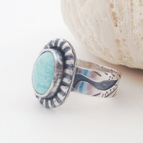 Egret,Bird,Turquoise,Ring,Size,6,1/2,Sterling,Silver,Wide,Band,Turquoise bird jewelry, egret bird jewelry, Sterling silver artisan ring, December birthstone, silversmith wide band ring