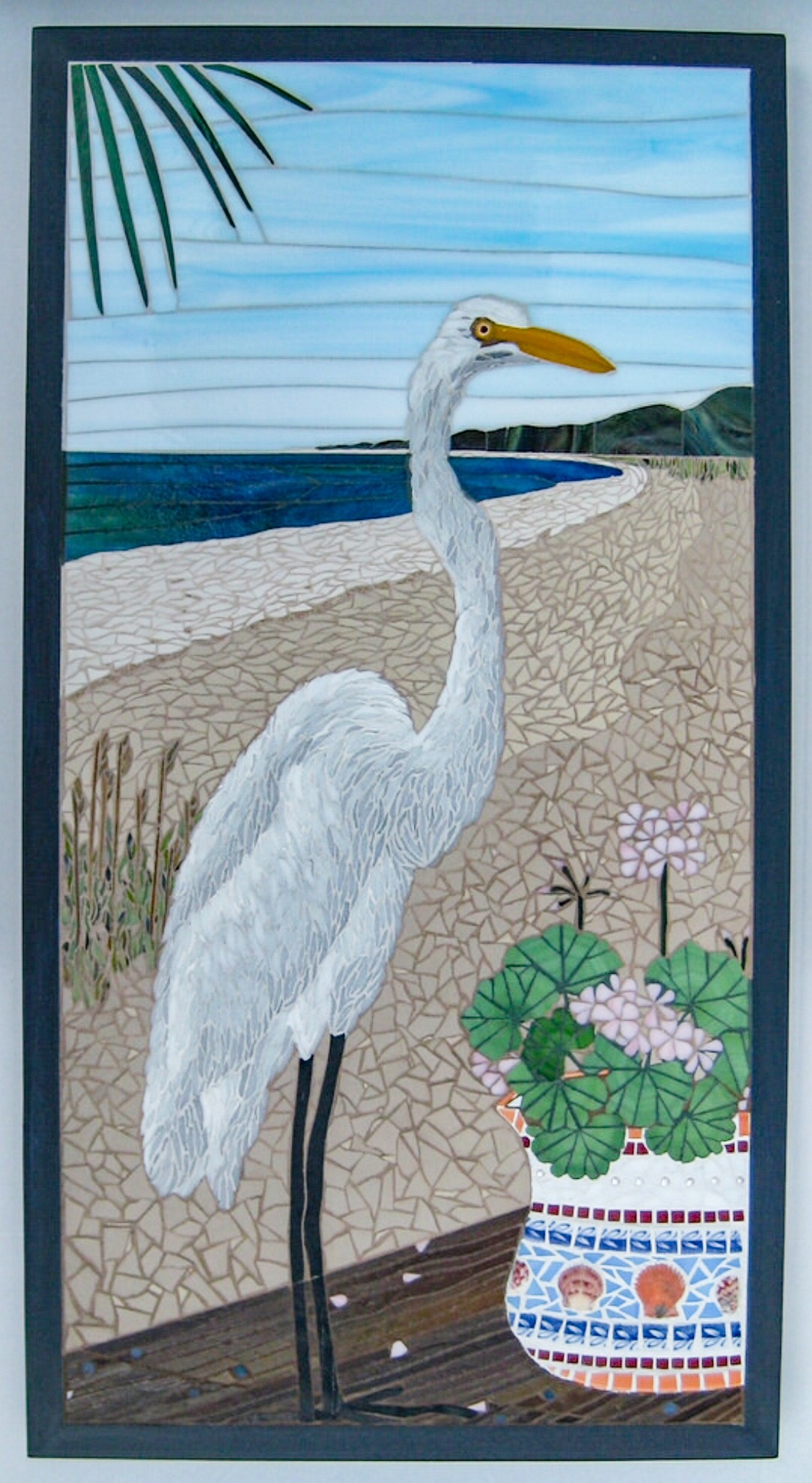 Bird theme mosaic Art by Linda Pieroth Smith