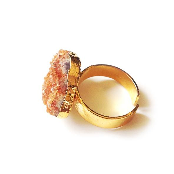 Raw Citrine Ring - product images  of