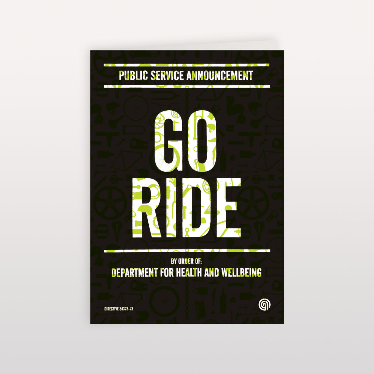 Go Ride - 120x170mm - Greeting Card - product image