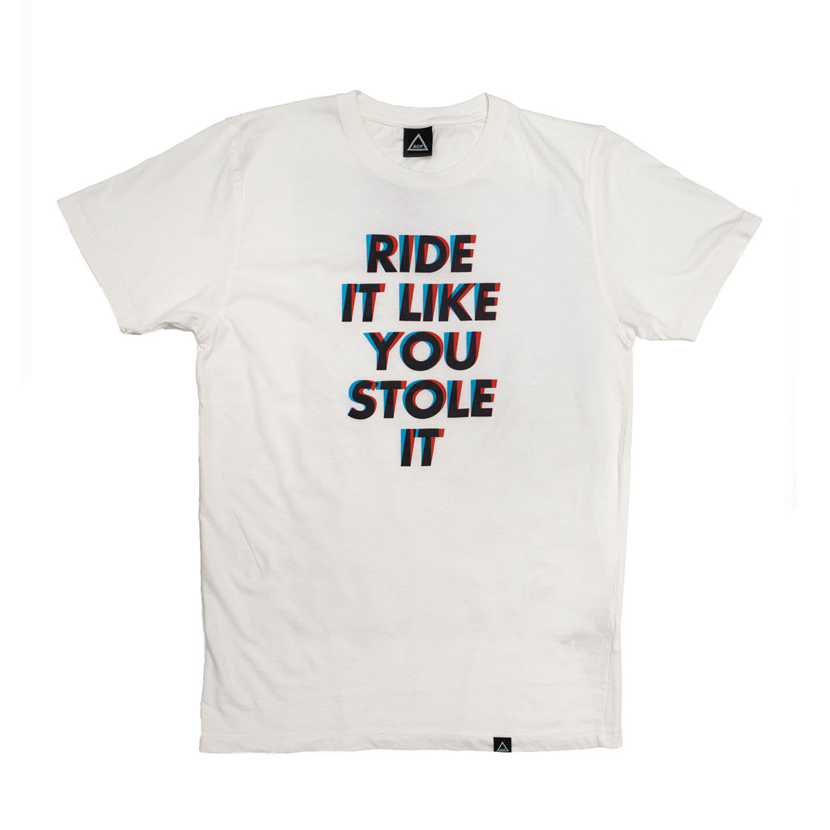 AOP Ride It Like You Stole it 100% Organic T-shirt - product image