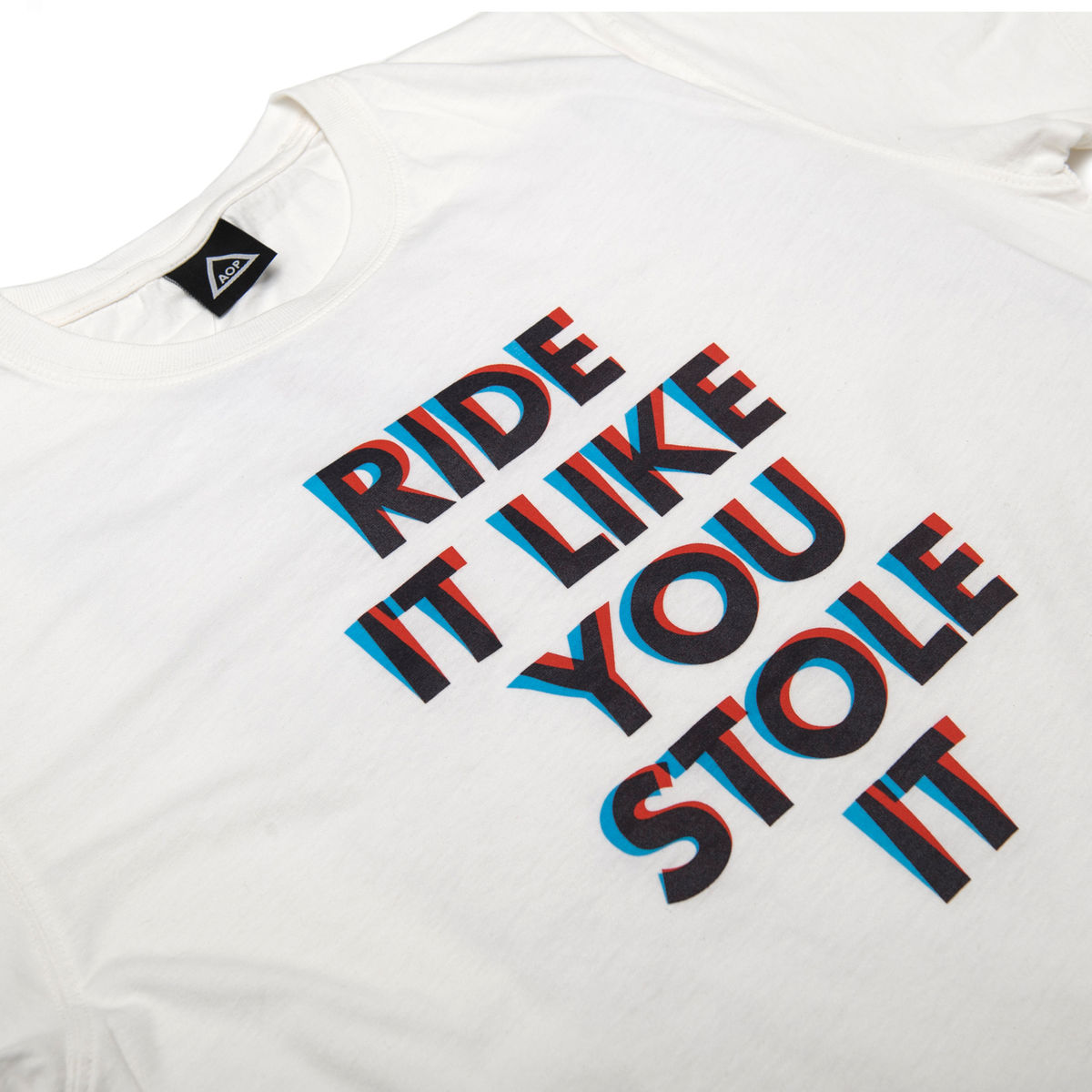 AOP Ride It Like You Stole it 100% Organic T-shirt - product images  of