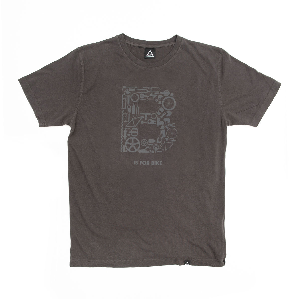 AOP B is for Bike 100% Organic T-shirt - product image