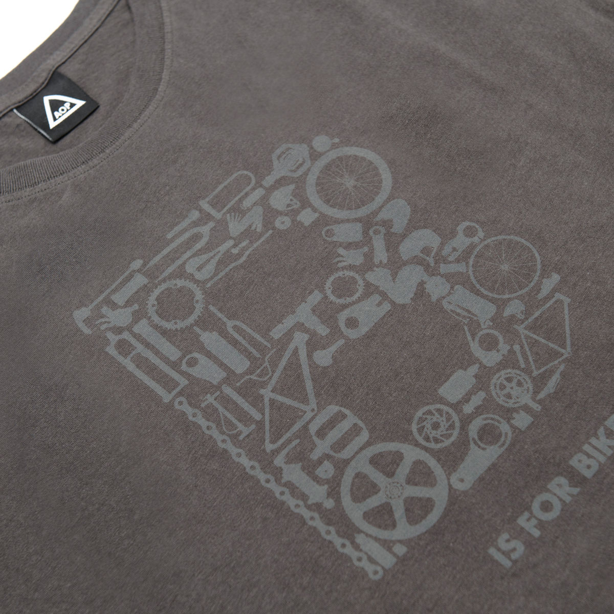 AOP B is for Bike 100% Organic T-shirt - product images  of