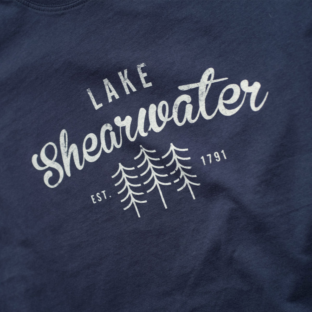 Lake Shearwater Womens 100% Organic T-shirt - product images  of