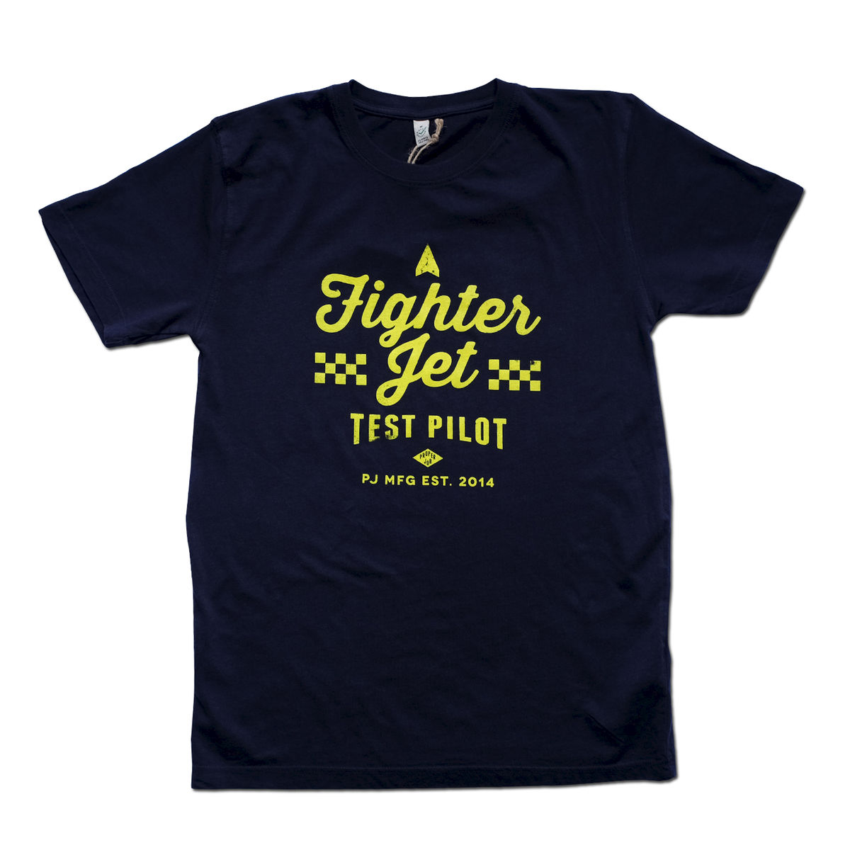 Proper Job - Fighter Pilot 100% Organic T-shirt - product image