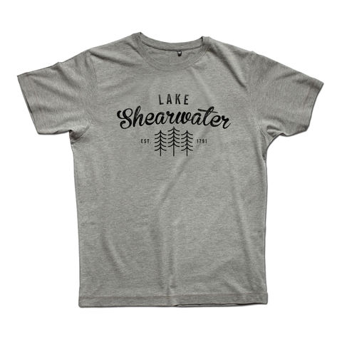 Lake,Shearwater,Men's,Classic,T-shirt,Anthony Oram, Lake Shearwater t-shirt