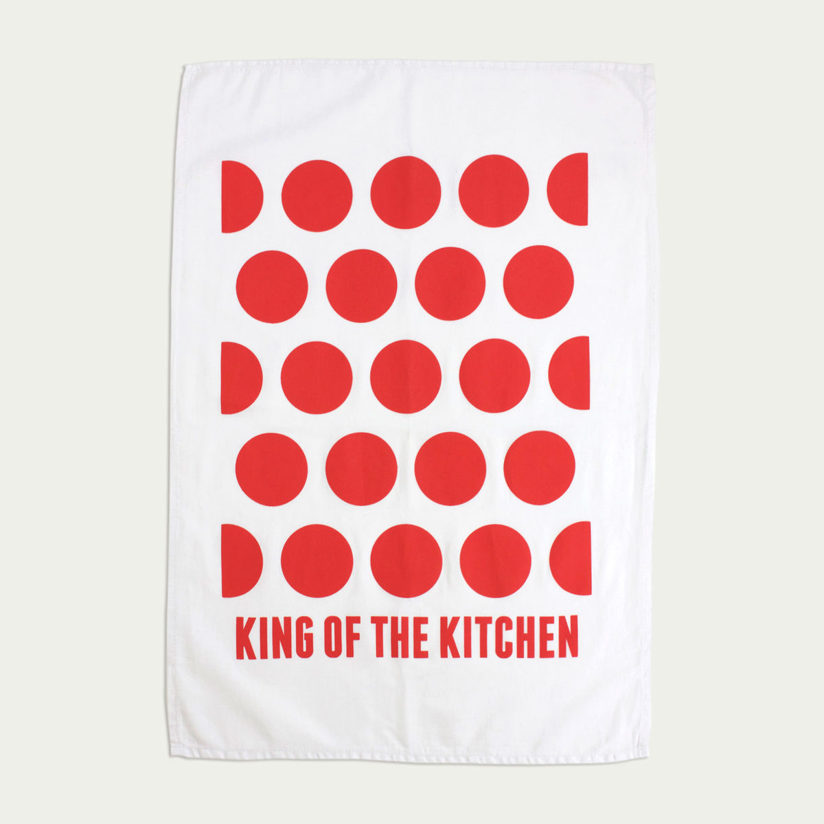 King of the Kitchen - Tea Towel - product image