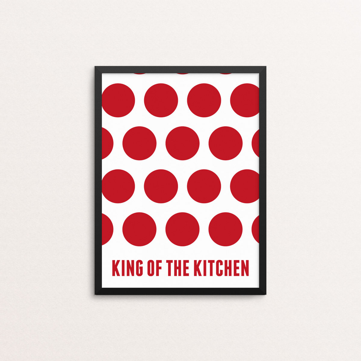 King of the Kitchen - Limited Edition Giclee Print - product image