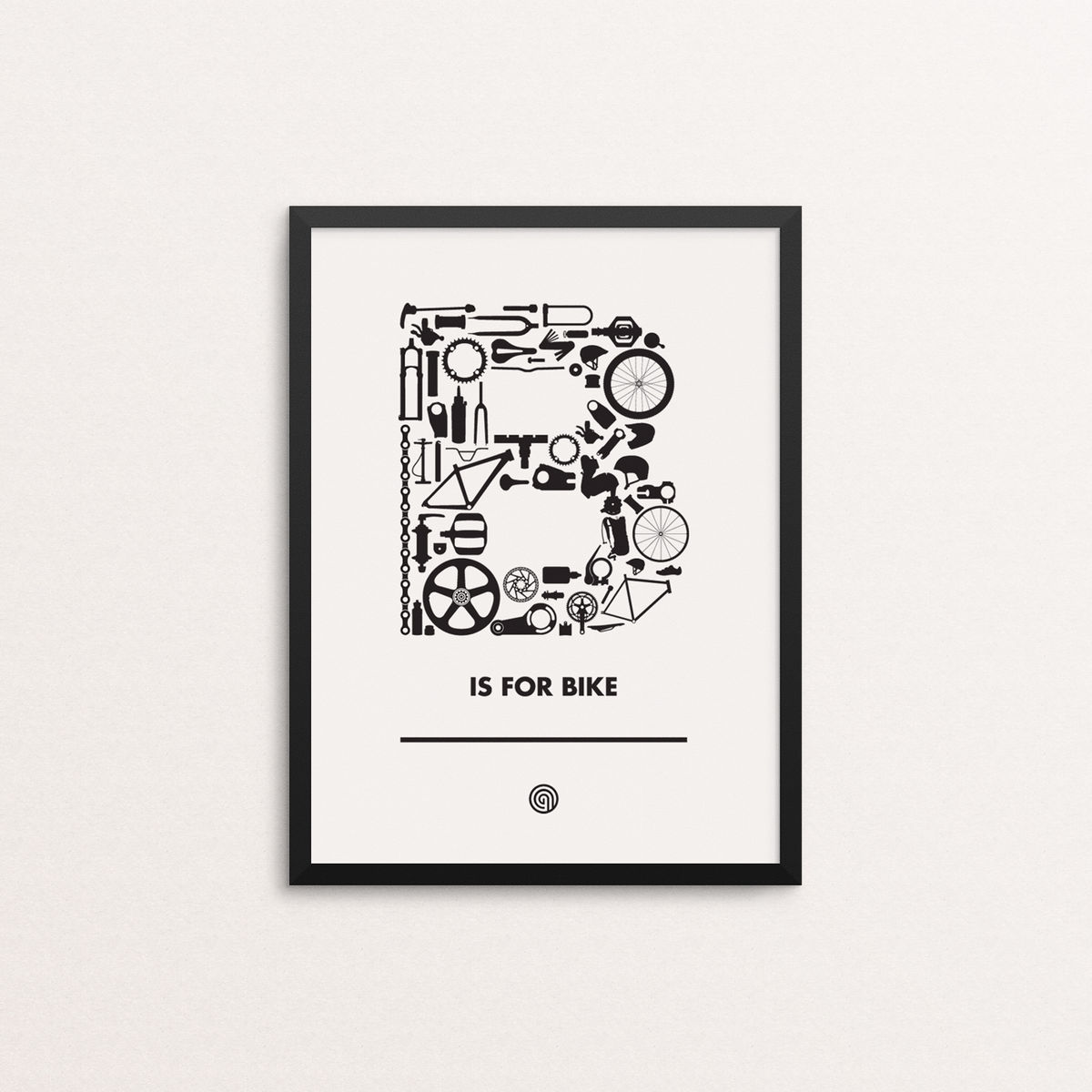 B is for Bike - Open Edition - product images  of