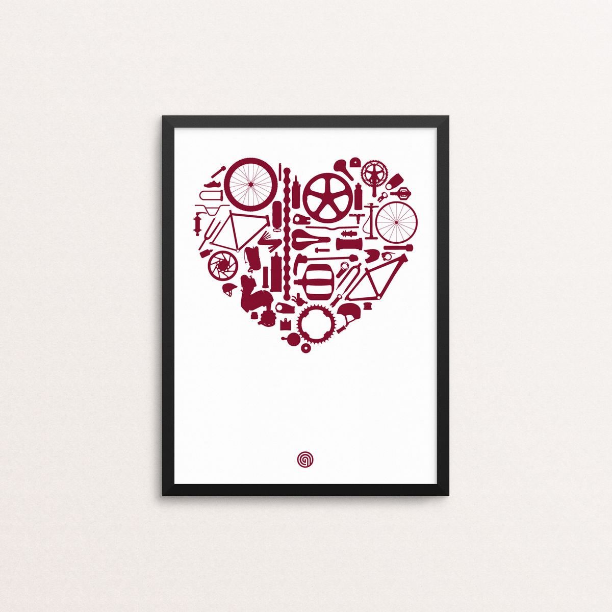 Bike Love - Giclee Print Open Edition - product image