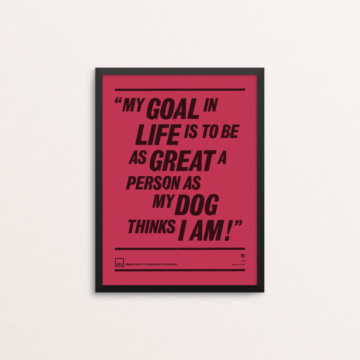My Goal In Life - Ltd Edition Vermilion - product images  of