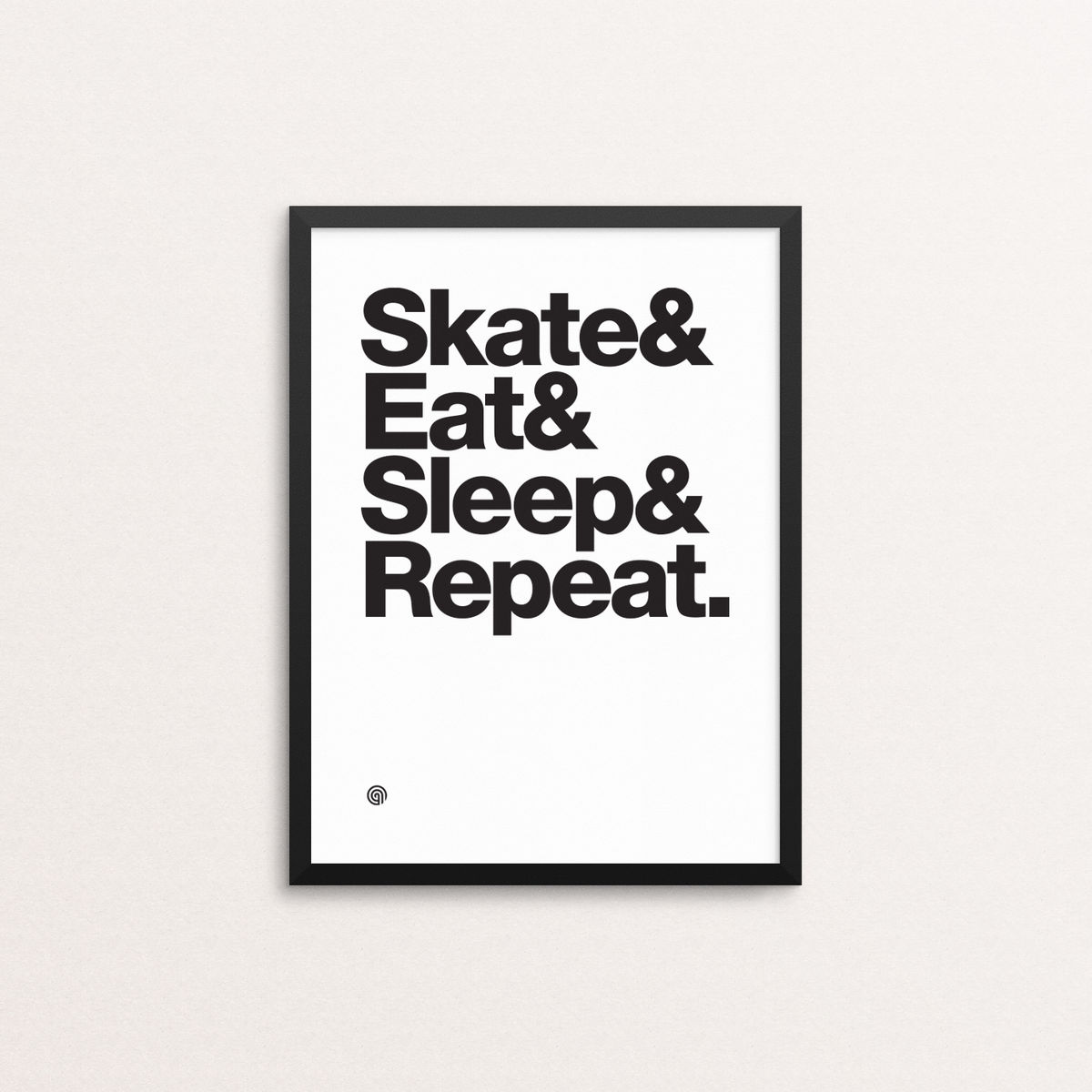Skate Eat Sleep Repeat - Giclee Print - product image