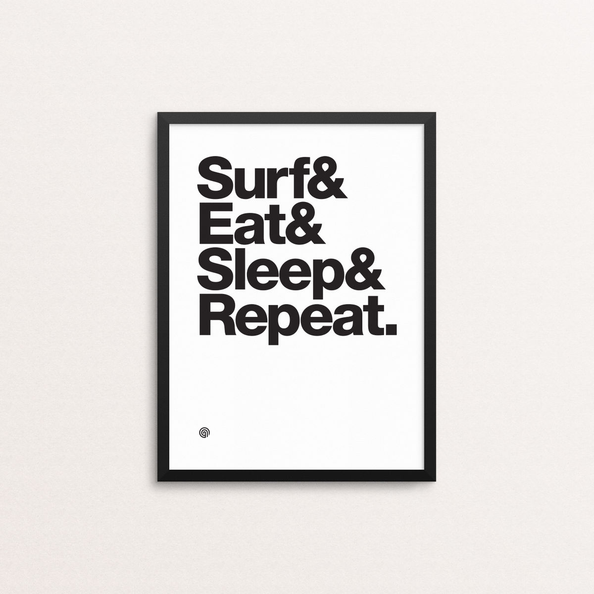 Surf Eat Sleep Repeat - Giclee Print - product image