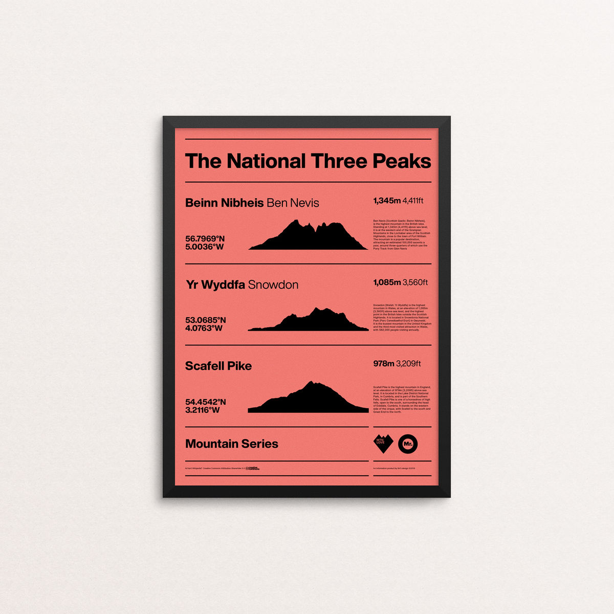 MTN Love - The National Three Peaks  - product image