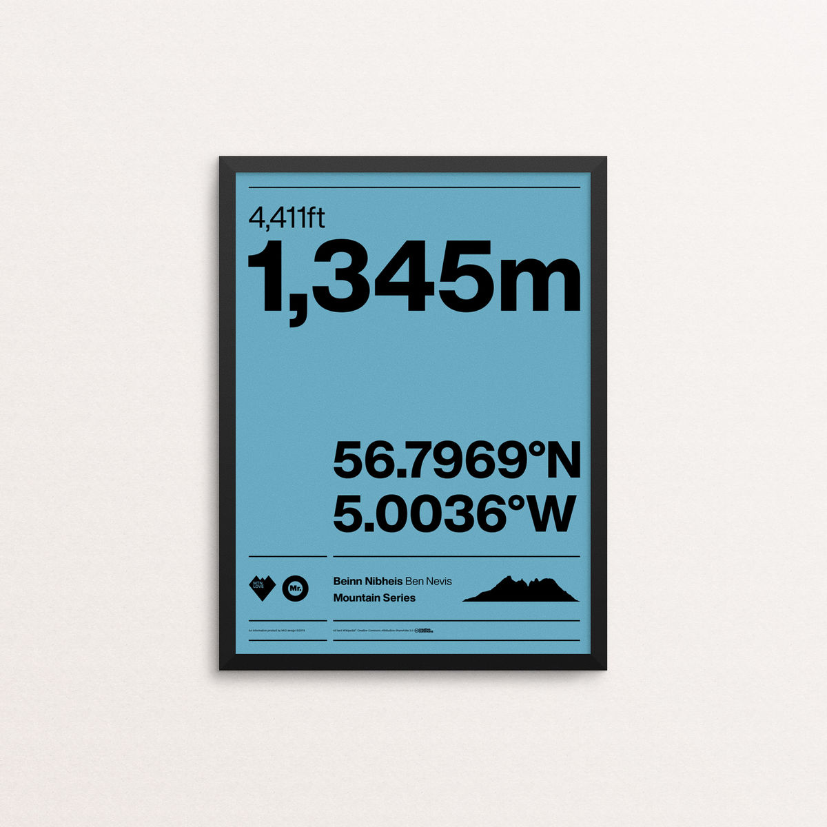MTN Love - Ben Nevis Minimalist - product images  of