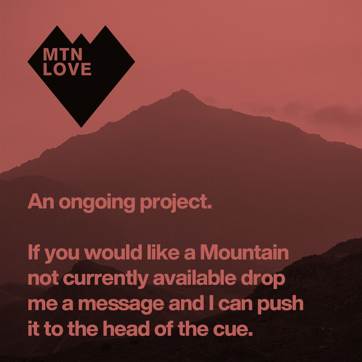 MTN Love - An ongoing project - product image