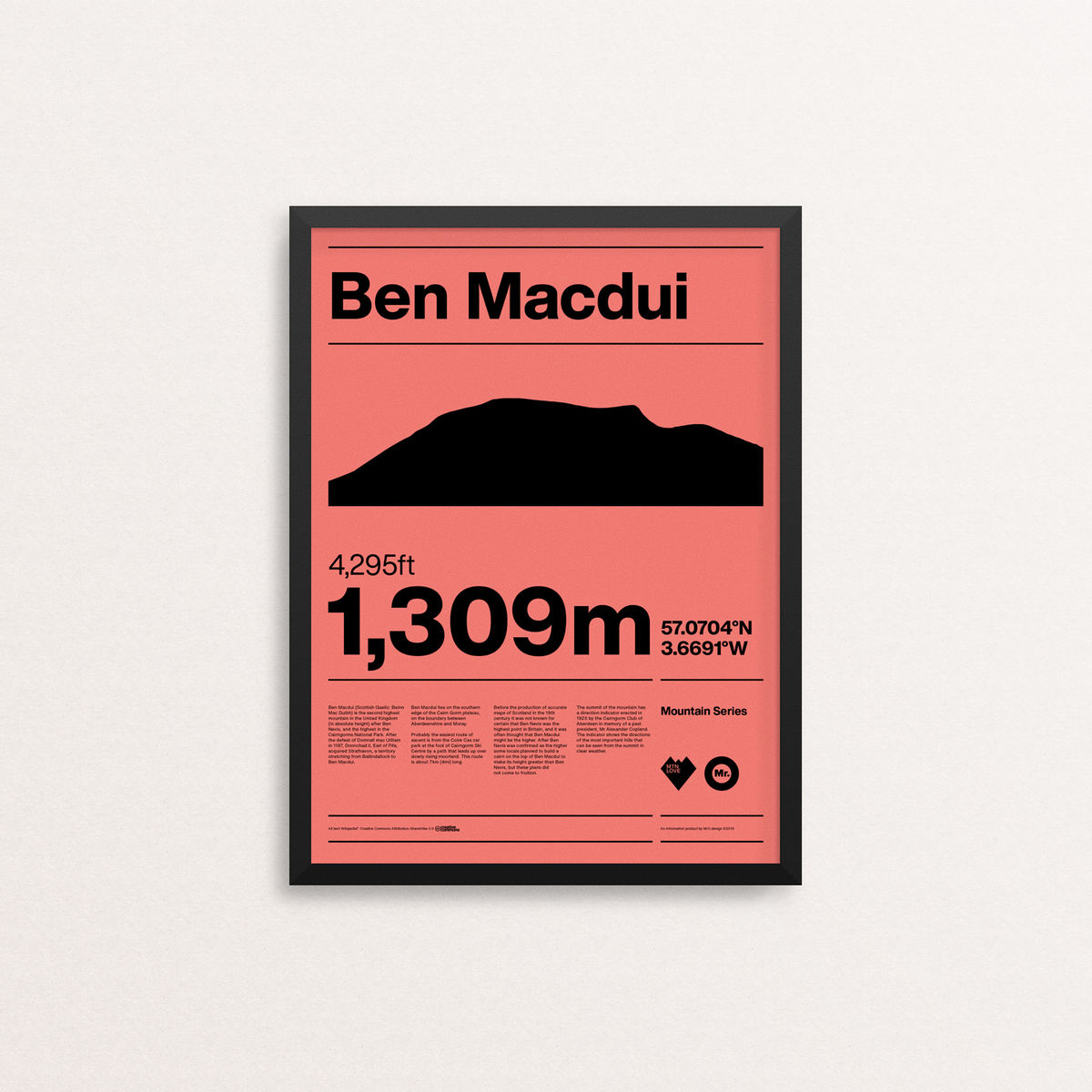 MTN Love - Ben Macdui - product images  of