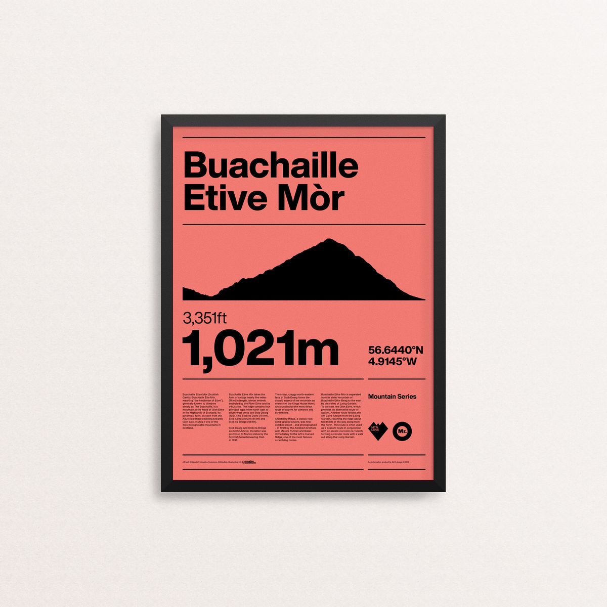 MTN Love - Buachaille Etive Mor - product images  of
