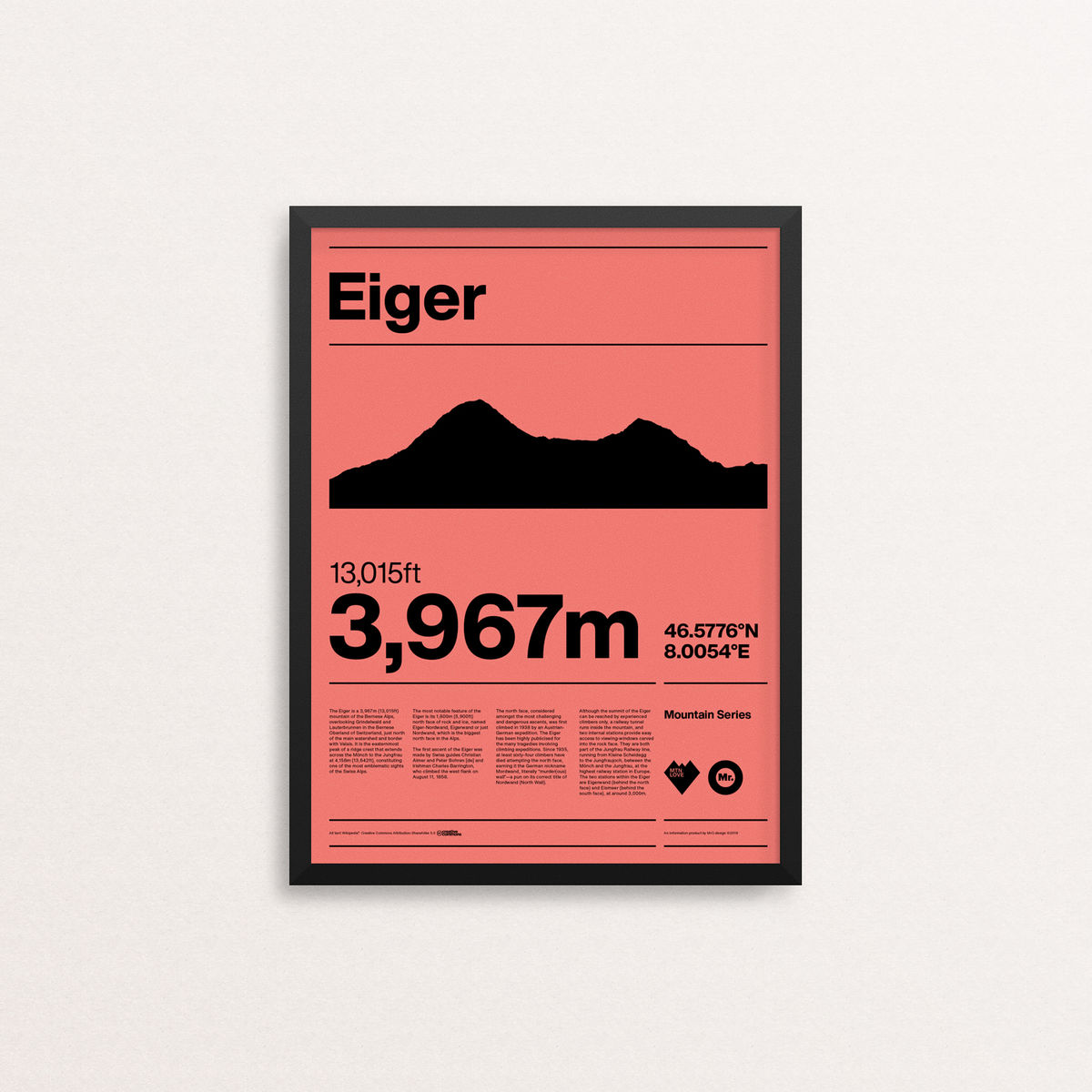 MTN Love - Eiger - product image