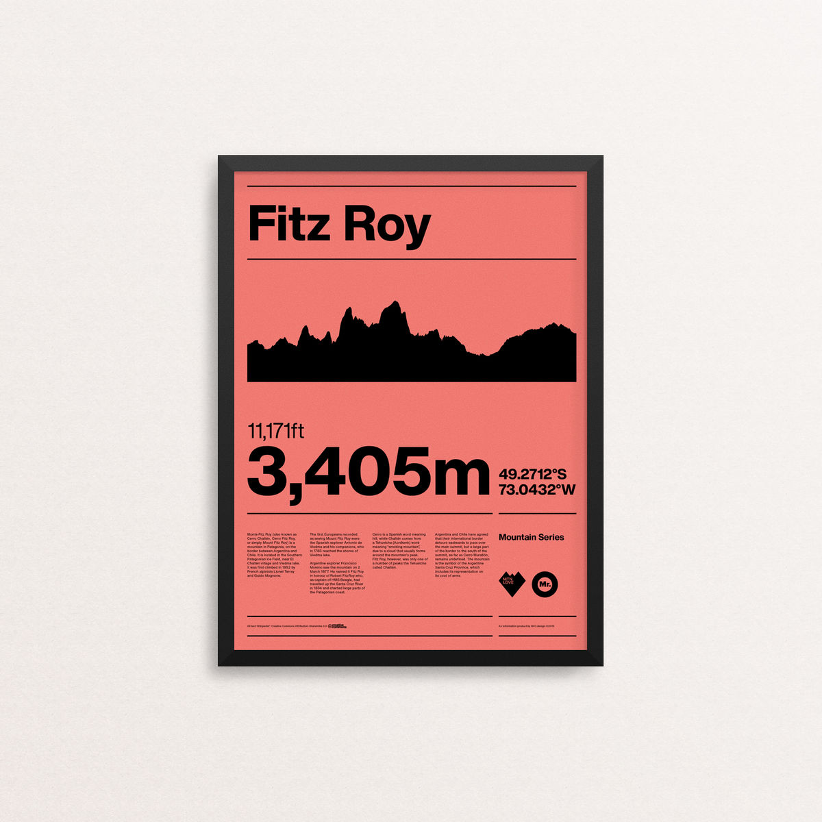 MTN Love - Fitz Roy - product image