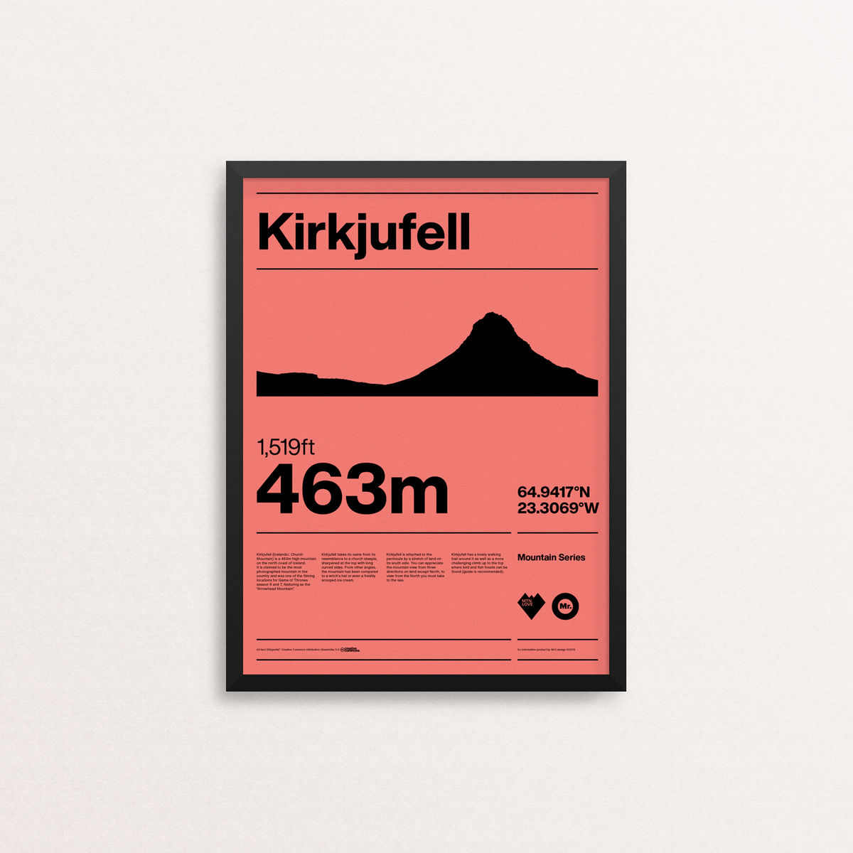 MTN Love - Kirkjufell - product images  of