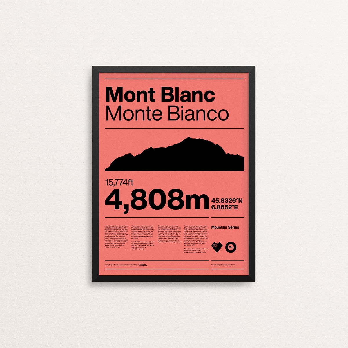MTN Love - Mont Blanc - product images  of