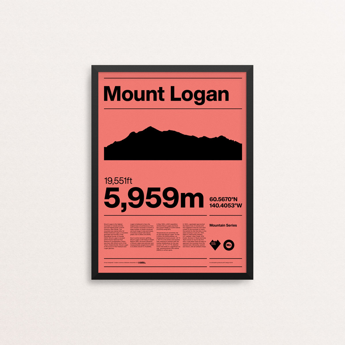 MTN Love - Mount Logan - product image
