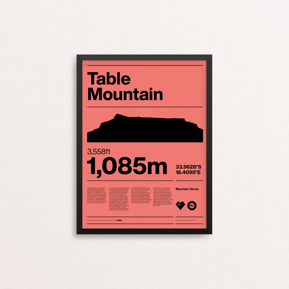 MTN Love - Table Mountain - product image